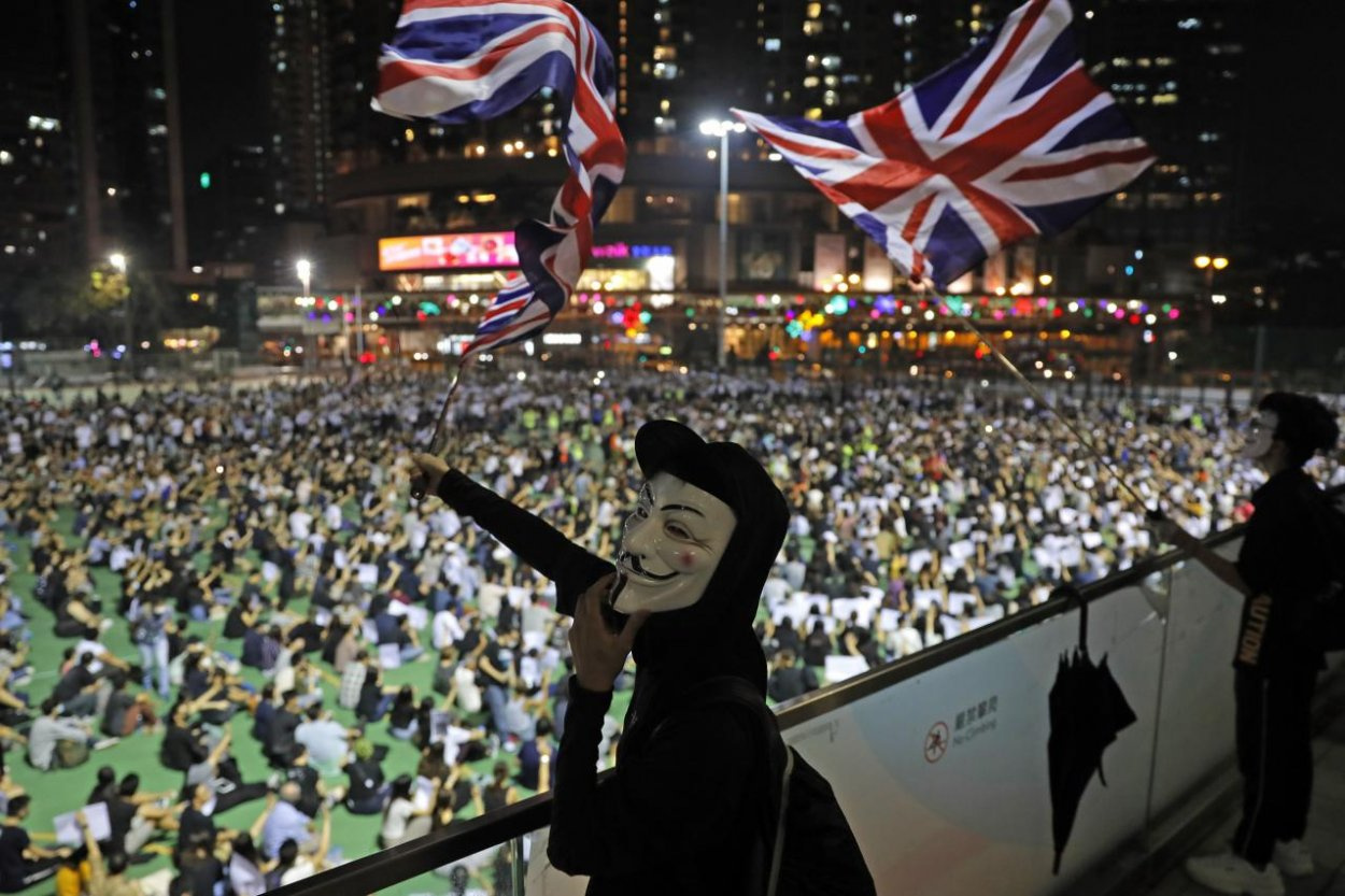 London, stand with Hong Kong!